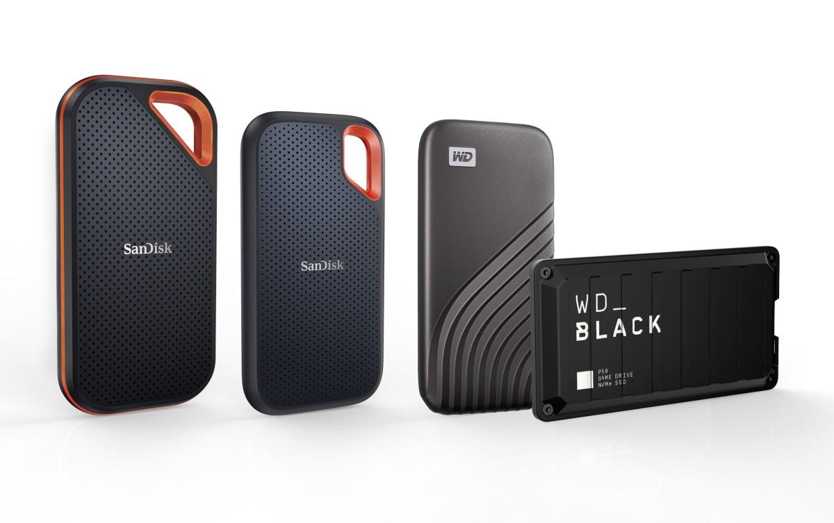 Western Digital 4TB Portable SSD