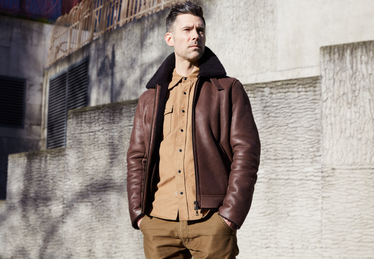 Division Road Cromford Leather Jacket and Viberg Boots