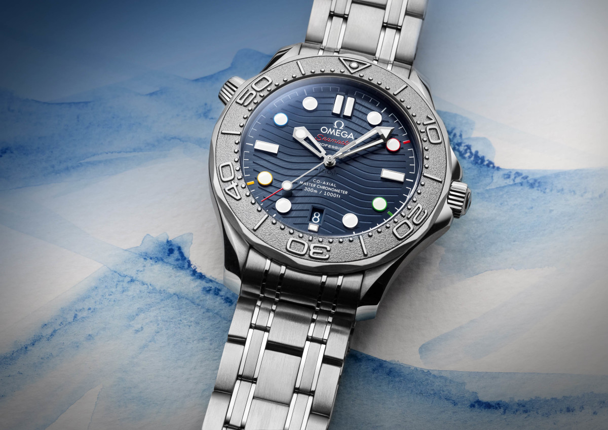 Omega Seamaster Diver 300M Beijing 2022 Special Edition