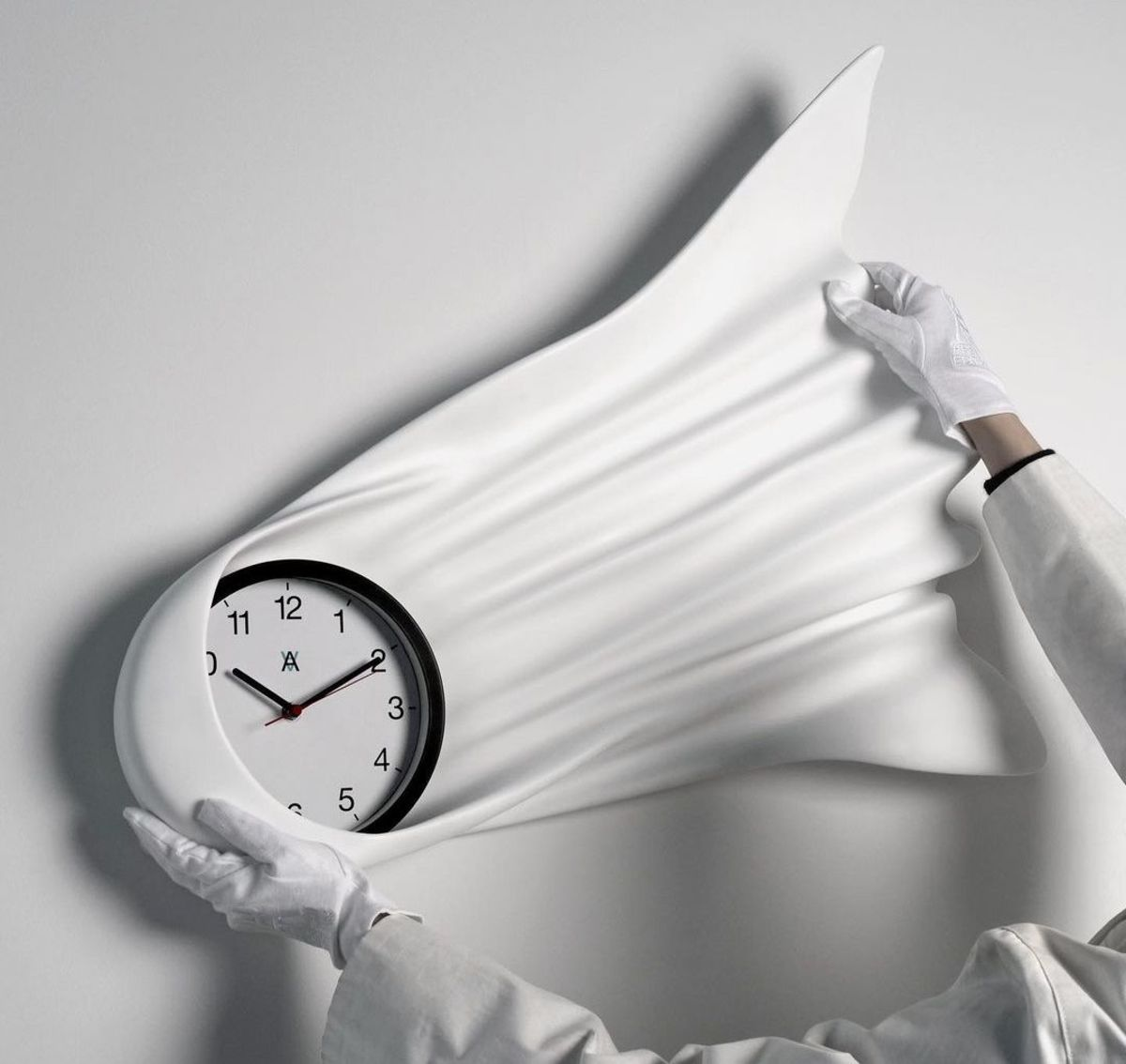Daniel Arsham Falling Clock