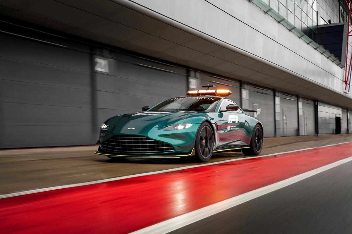 Aston Martin Vantage Safety Car