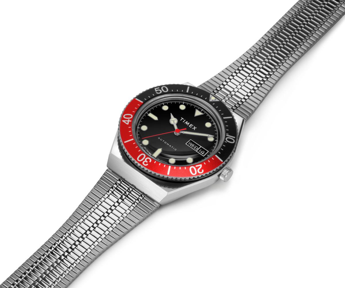 Timex M79 Red and Black