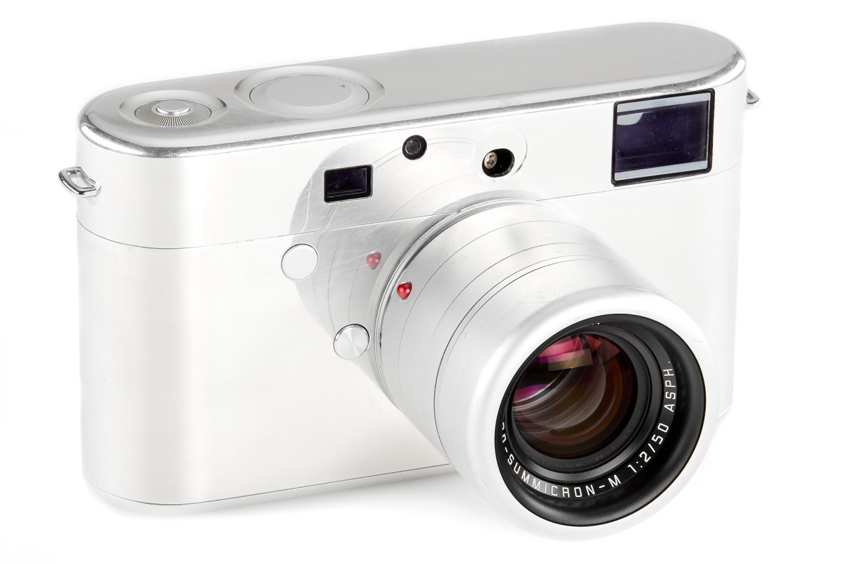 Leica M by Jony Ive and Marc Newson Prototype