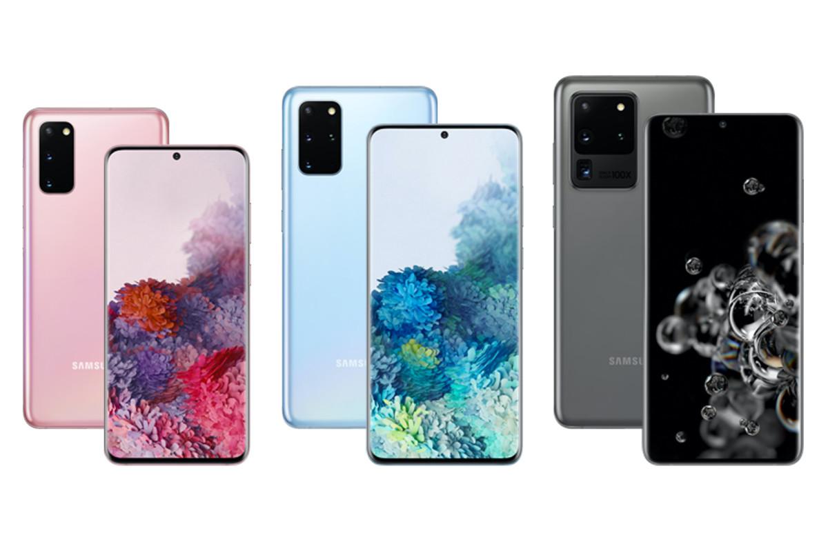 Samsung new smartphones 2020
