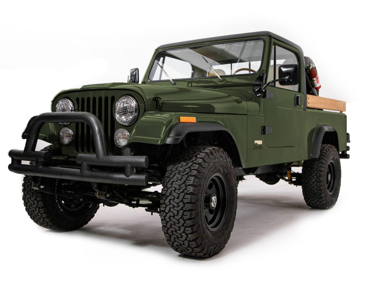 Ball and Buck CJ8 Jeep