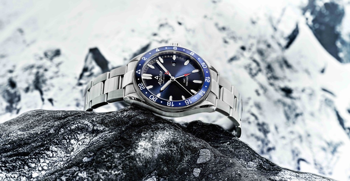 Alpina adds a GMT to its Alpiner collection