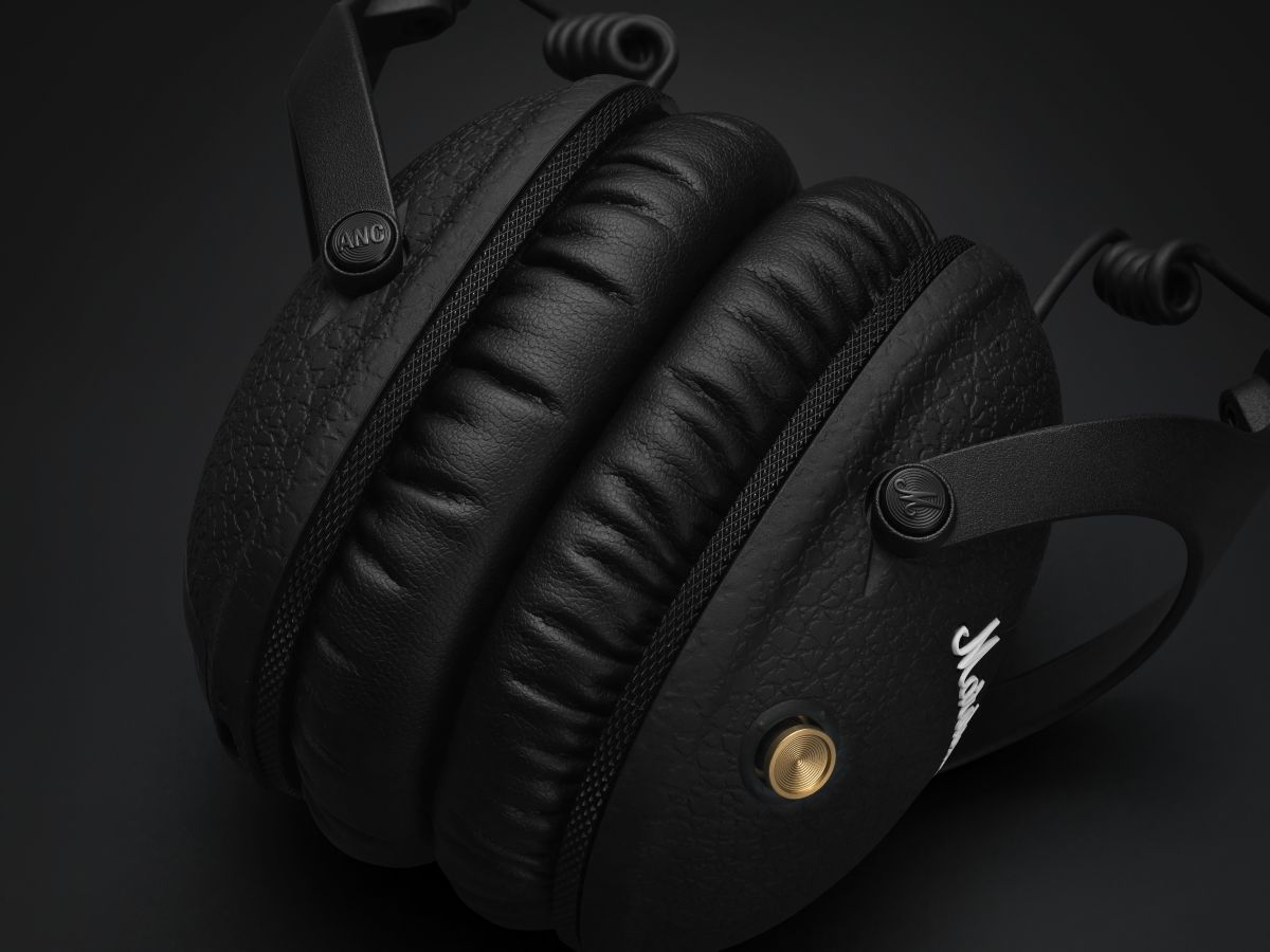 Marshall adds active noise cancelling tech to its Monitor headphones