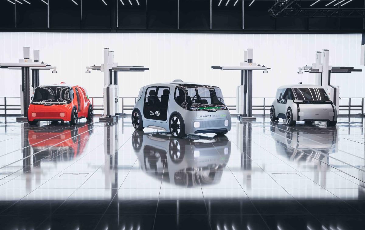 Jaguar Land Rover looks to an autonomous future with Project Vector