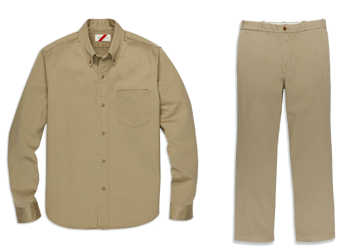 Best Made adds a rugged touch to its new khakis with Japanese cotton twill