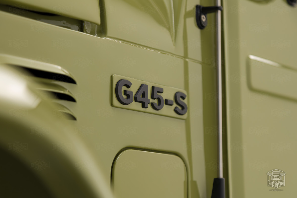 FJ Company's G45-S pays tribute to the FJ45 Troopy