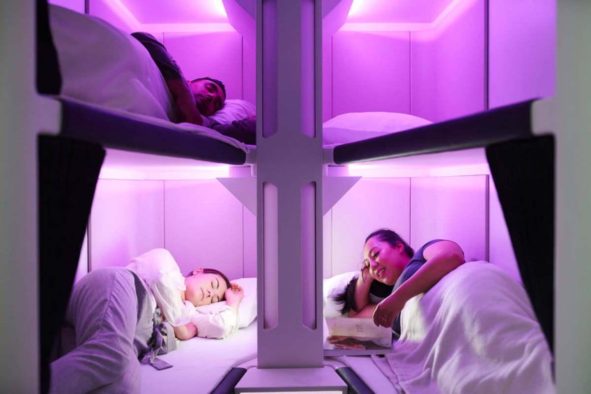 Air New Zealand Sleep Nest