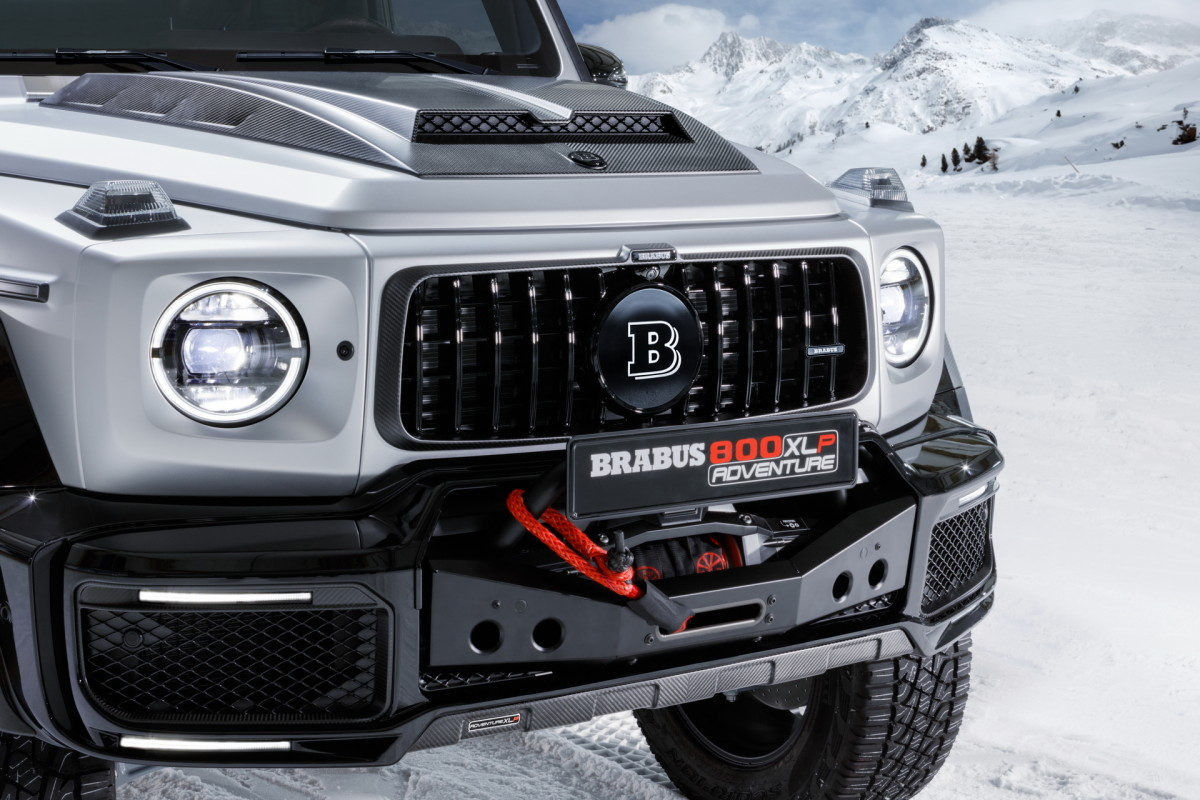 Brabus has turned the Mercedes G63 into an 800 hp super truck