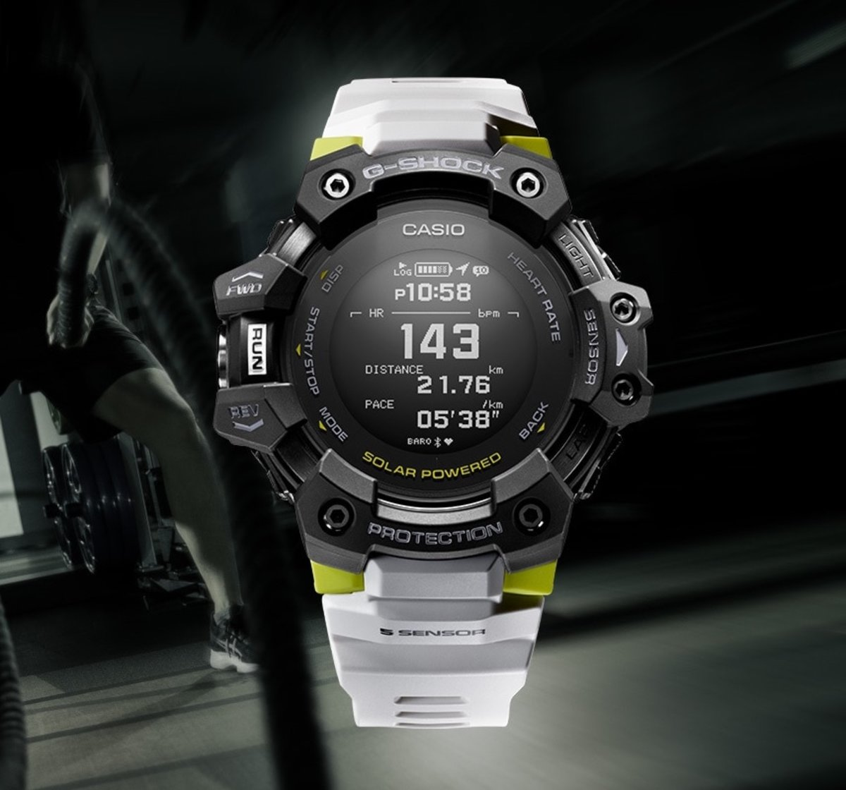 Casio launches a G-Shock with a heart rate monitor and GPS