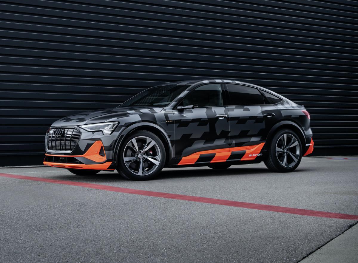 Audi e-tron S-models