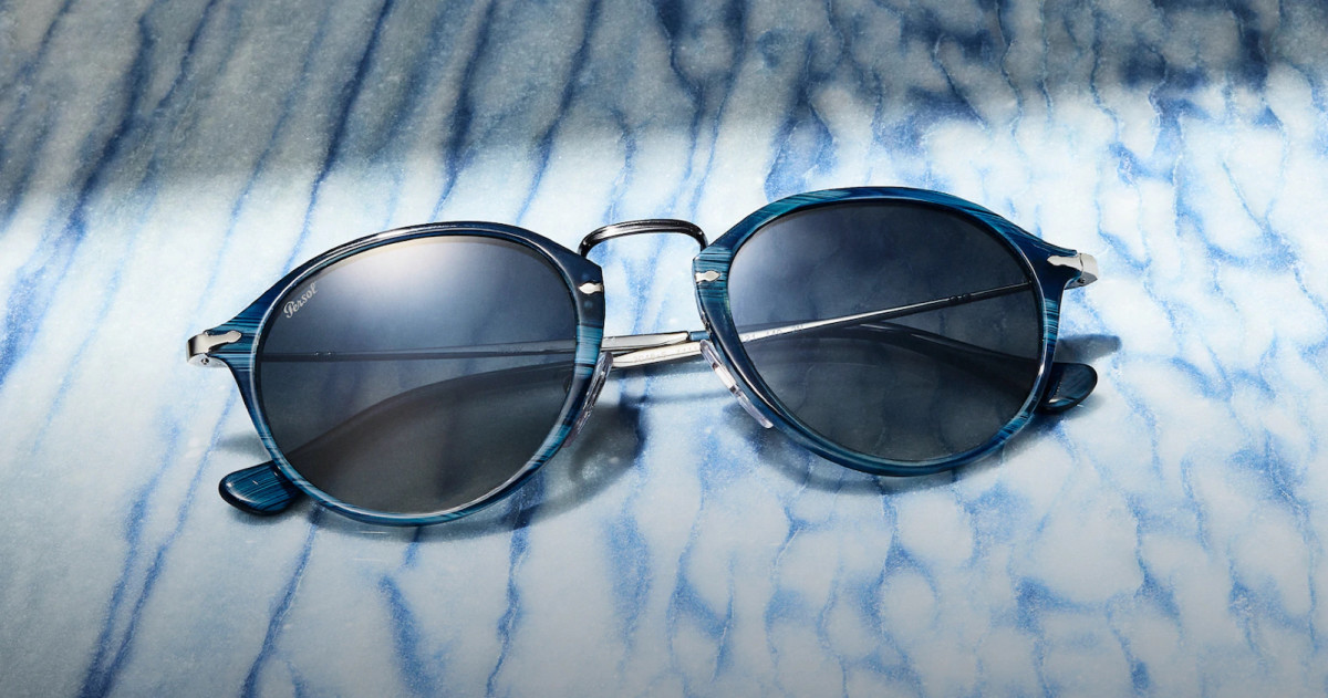 Persol captures bold new hues for their Materia collection