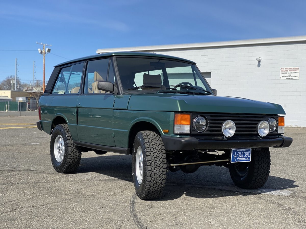 Legacy Overland Range Rover Classic