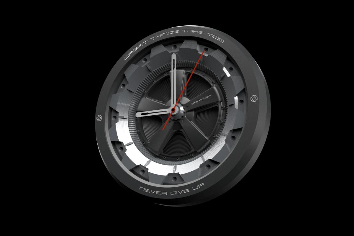 Gunther Werks Wall Clock