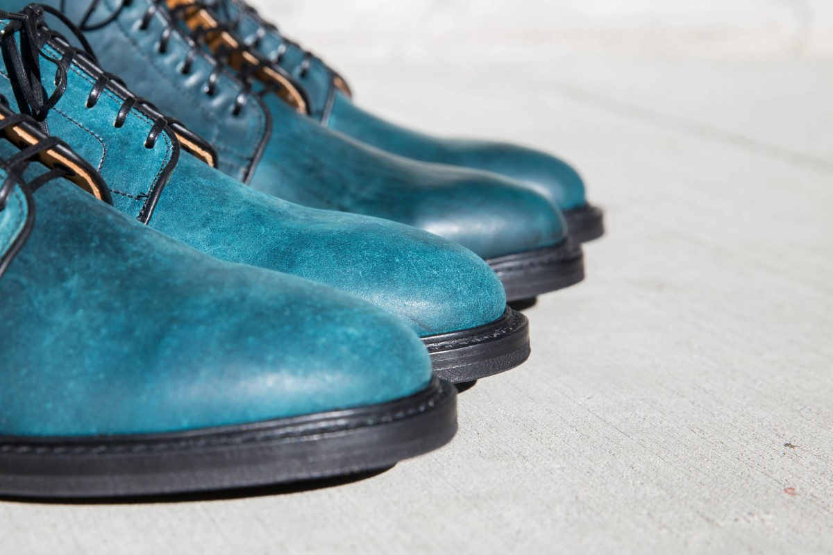 Viberg brings some color back into their lineup with their Intense Blue Tumbled Shell Cordovan
