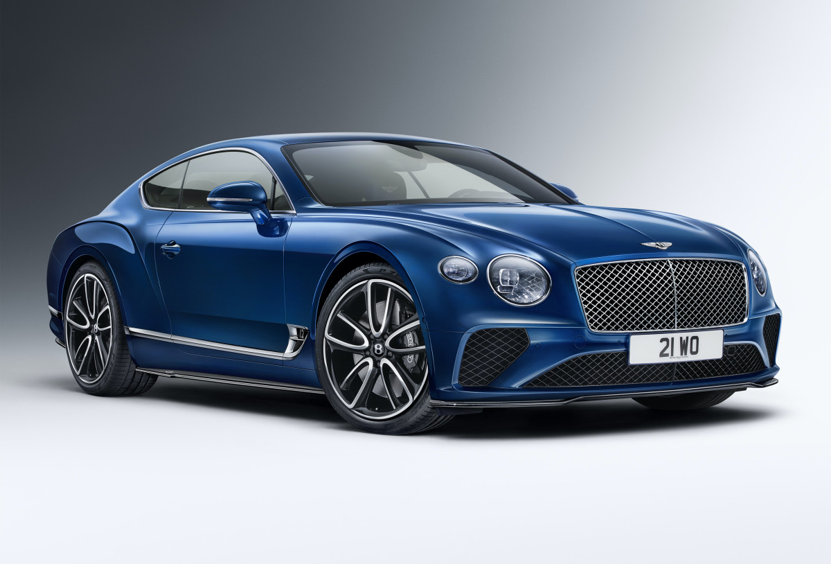 Bentley Carbon Fiber Styling Spec