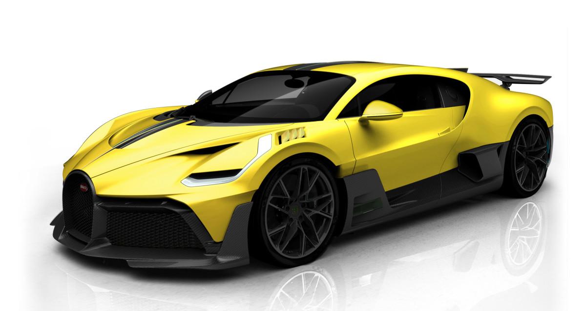 Bugatti Divo Configurations
