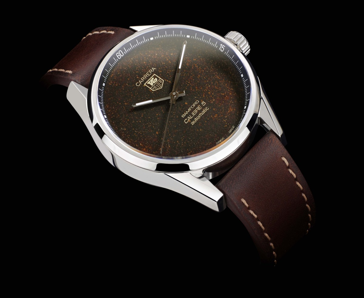 Bamford Watch Department x Badgerworks Tag Heuer Carrera
