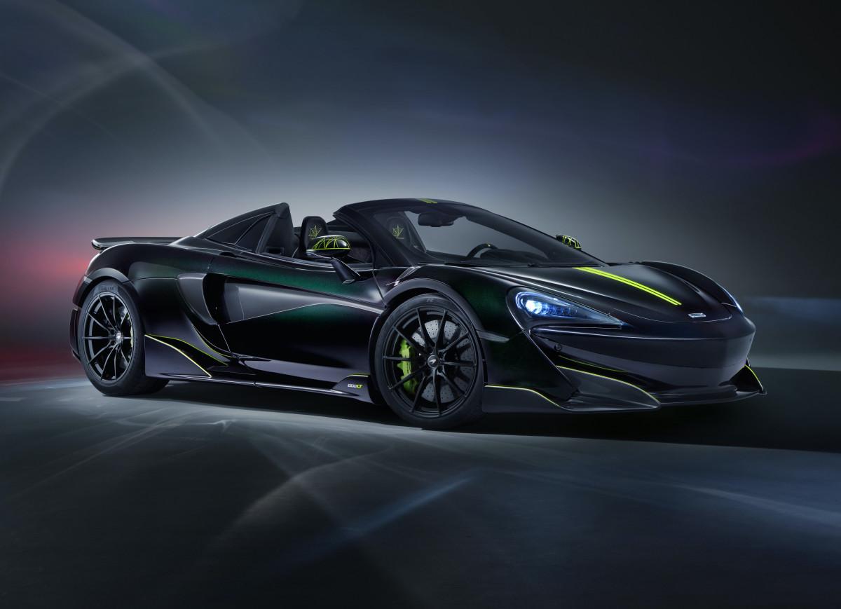 McLaren 600LT Spider Segestria Borealis MSO