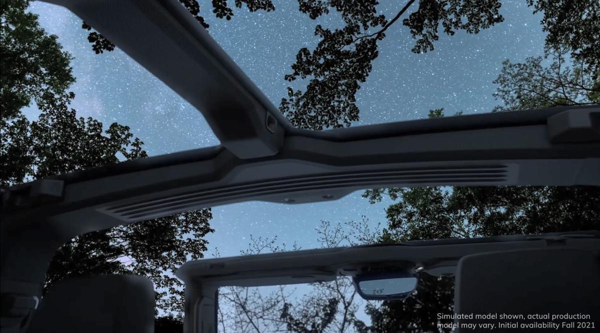 GMC Hummer EV Removable Roof Panels