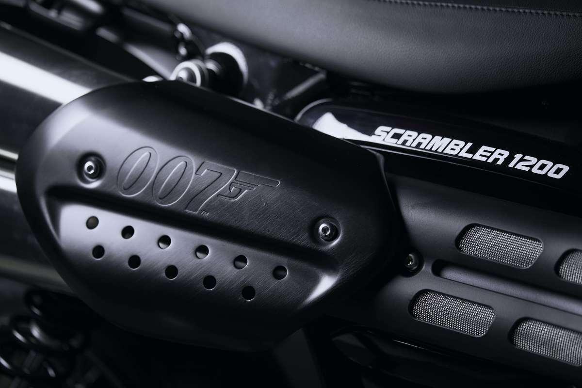 Triumph launches the Scrambler 1200 Bond Edition