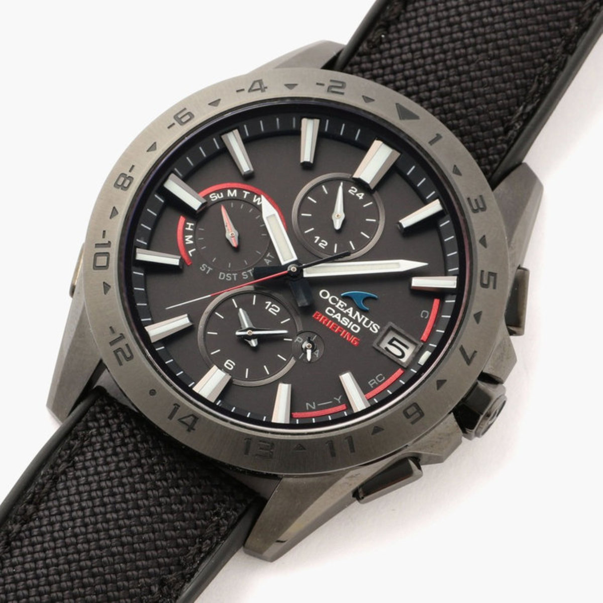 Casio Oceanus x Briefing