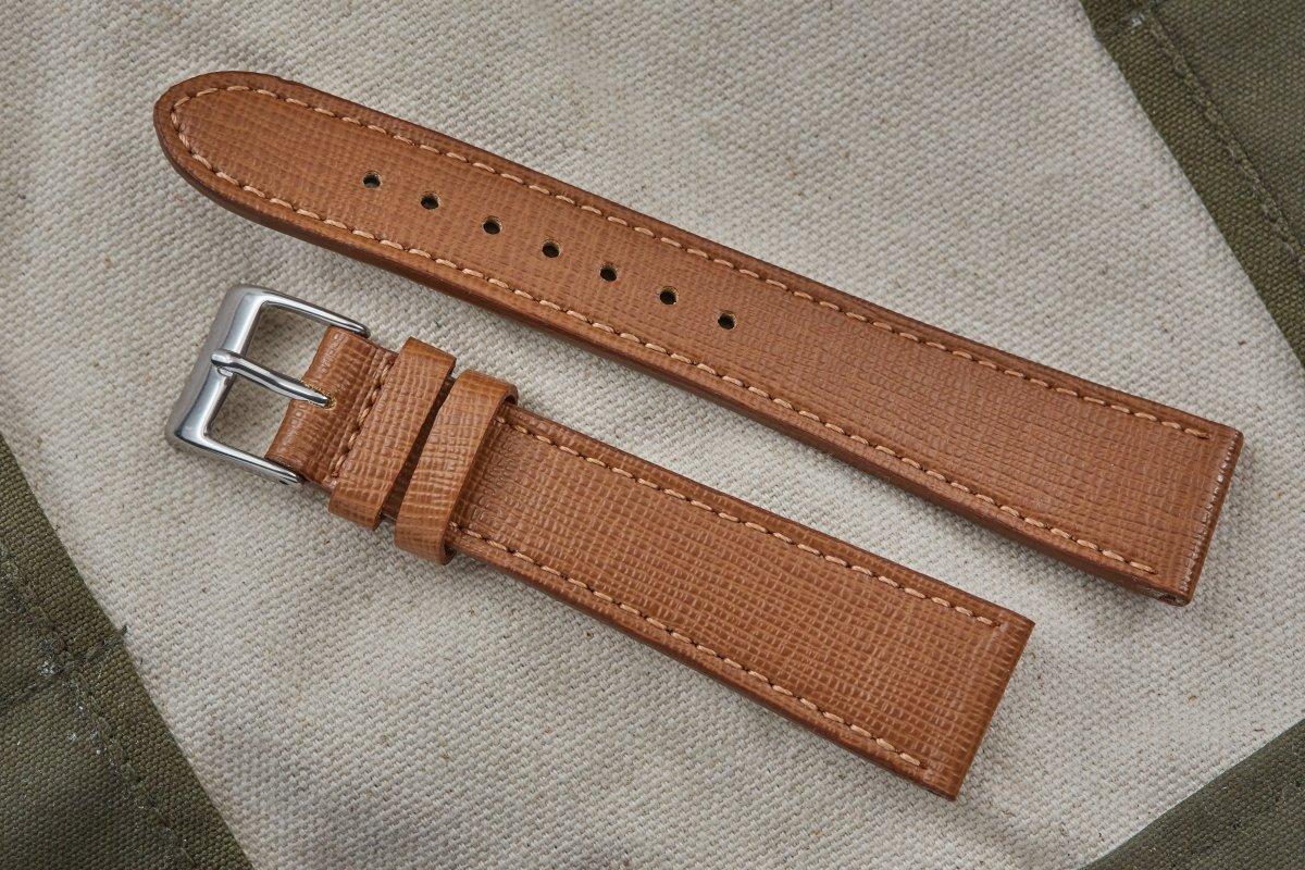 Hudson Brown Saffiano Strap ($47, orig. $79)