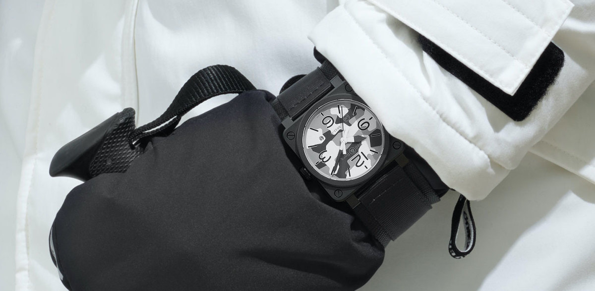 Bell & Ross releases a white camo version of the BR 03-92
