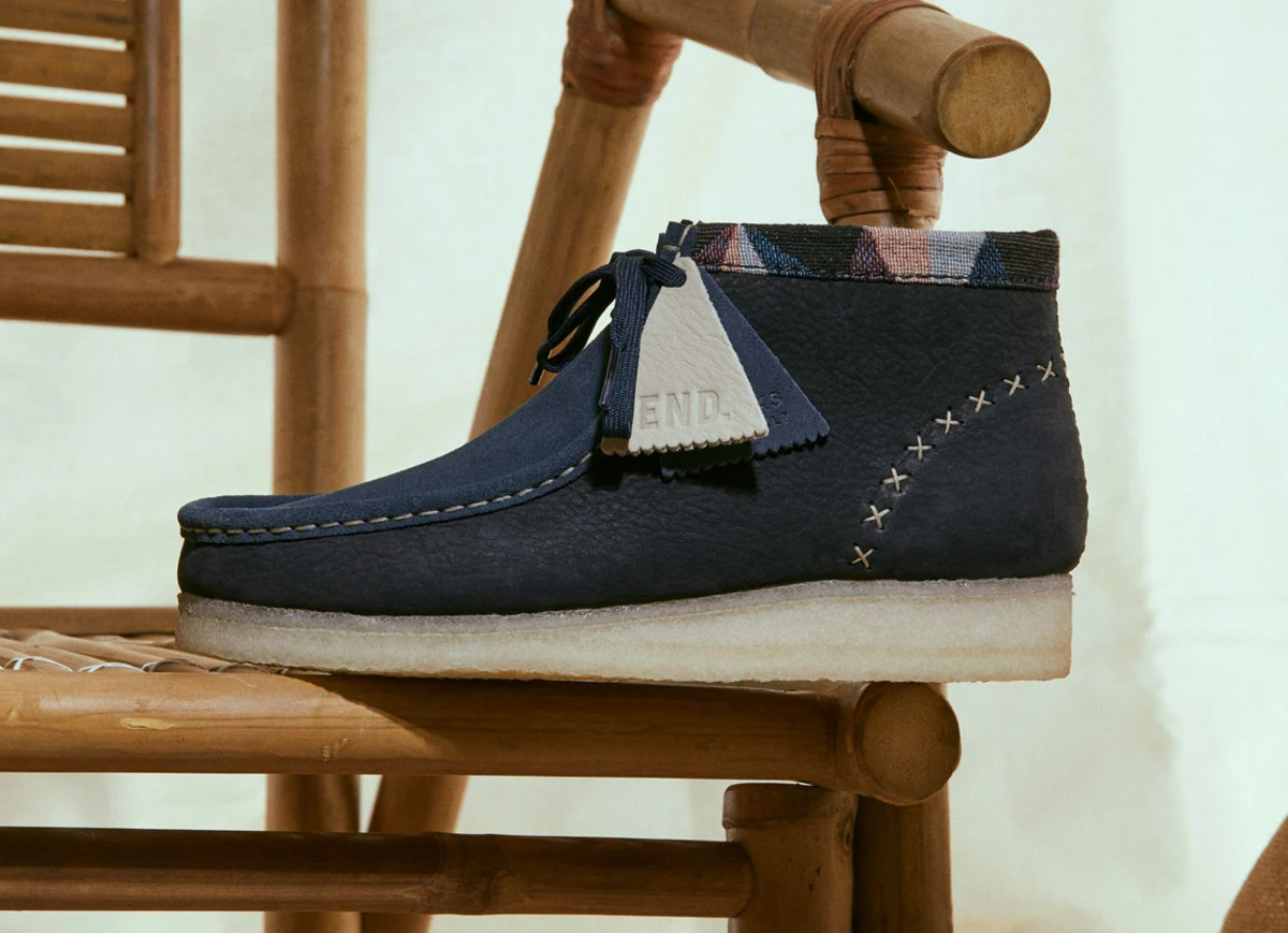 END. x Clarks Wallabee Artisan Pack