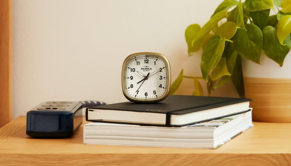Shinola turns its Guardian timepiece into a new alarm clock