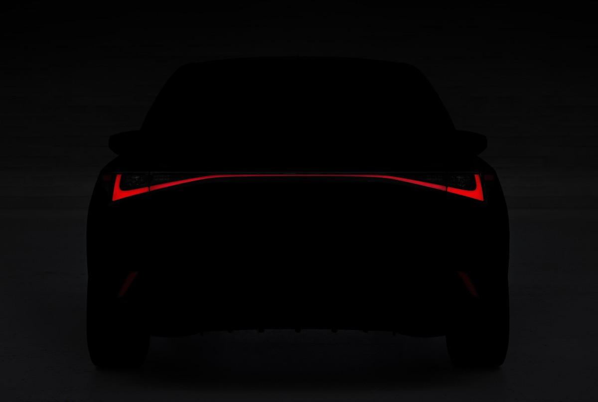 Lexus teases the upcoming 2021 IS sedan