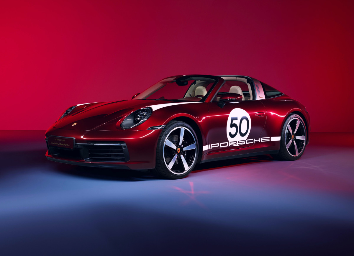 Porsche Targa Heritage Edition