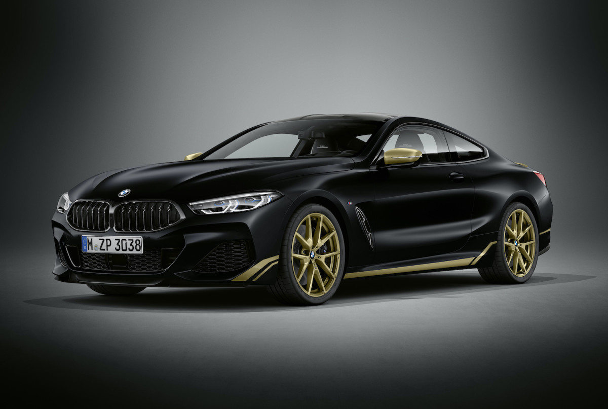 BMW 8 Series Golden Thunder