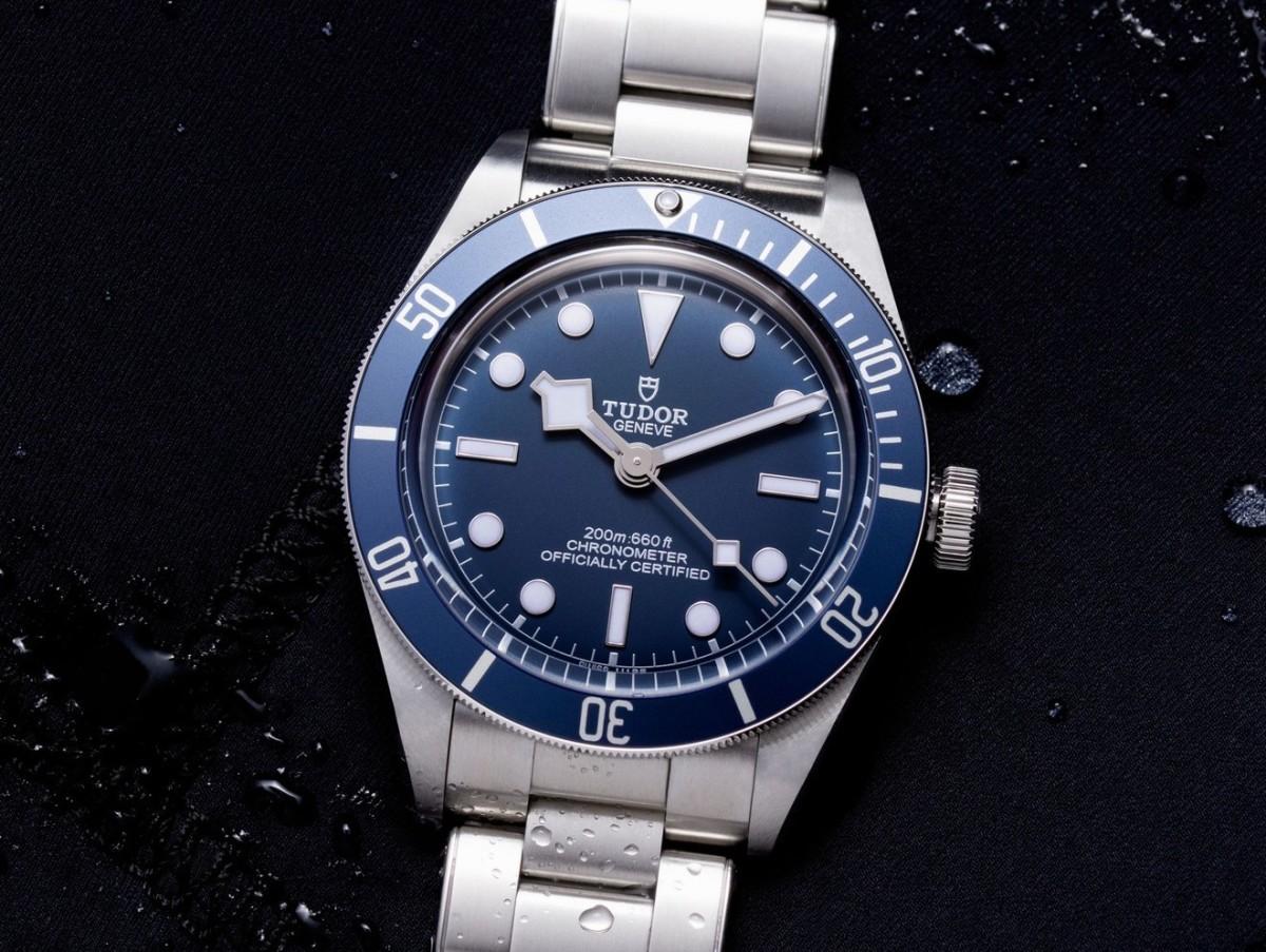 Tudor Navy Blue Black Bay Fifty Eight