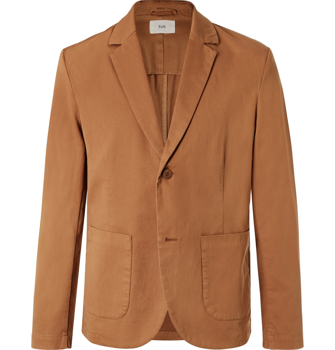 Folk Stretch Cotton Blazer ($231, orig. $330)