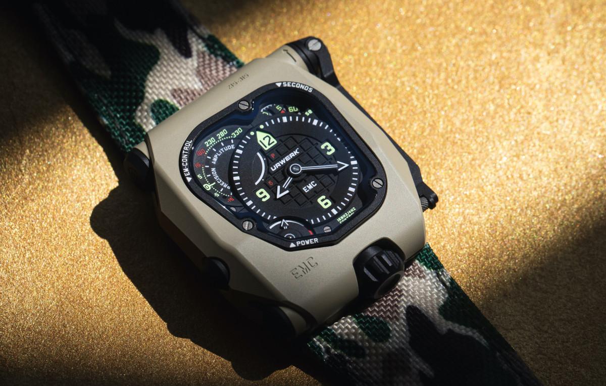 Urwerk's Desert Sage EMC TimeHunter is an M1A1 for your wrist
