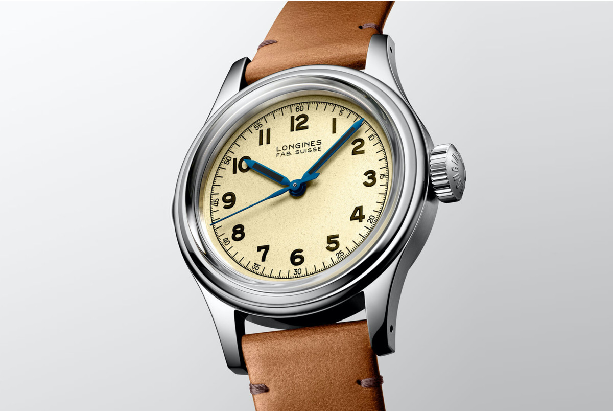 Longines previews its new Heritage Military Marine Nationale