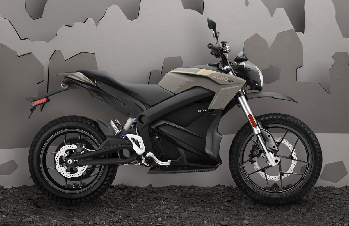 Zero Motorcycles DSR 15th Anniversary