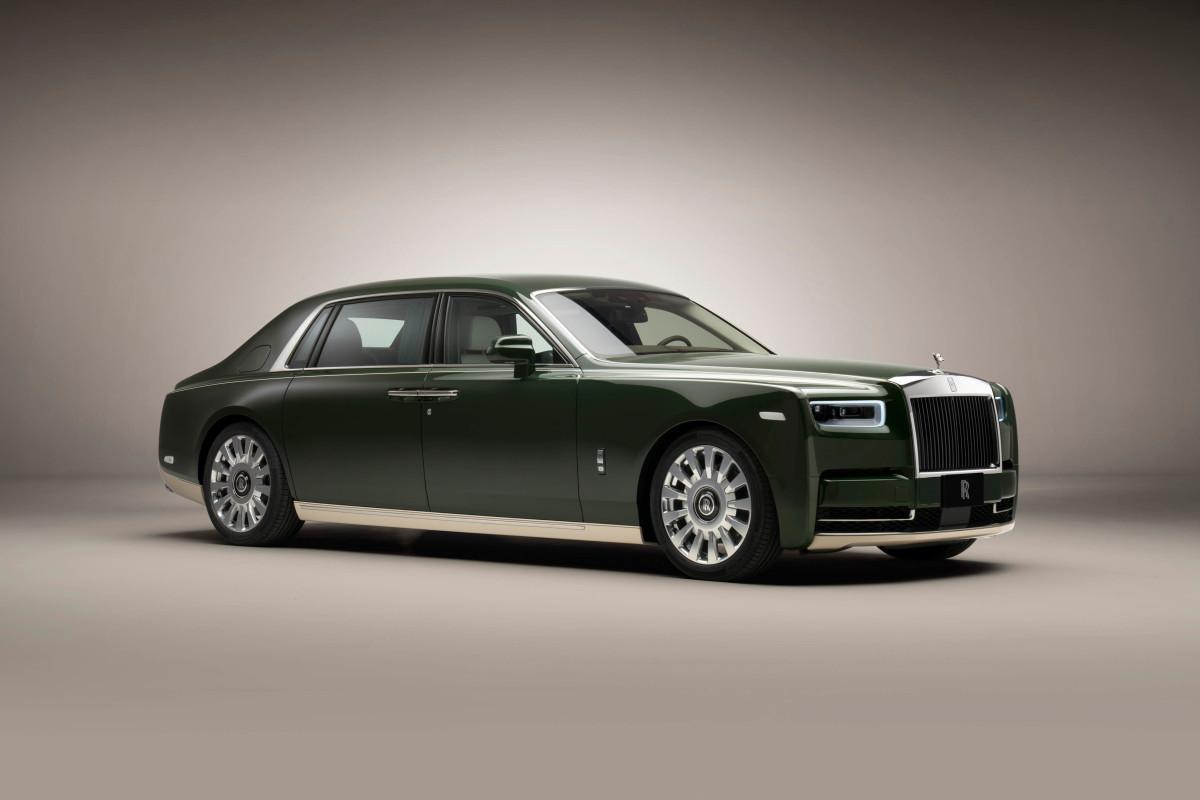 Rolls-Royce Phantom Oribe Hermès