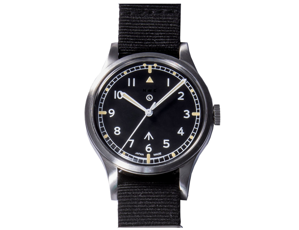"Naval Watch MIL.-06 SV/BK Automatic British ROYAL Army ""W10"" TYPE"