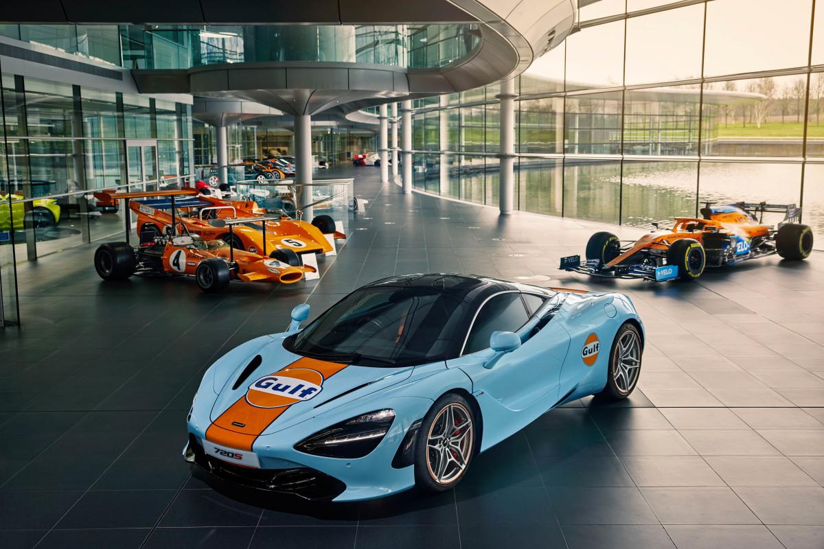 McLaren MSO Gulf 720S
