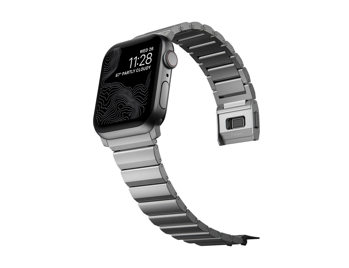 Nomad Apple Watch Metal Bands 2021