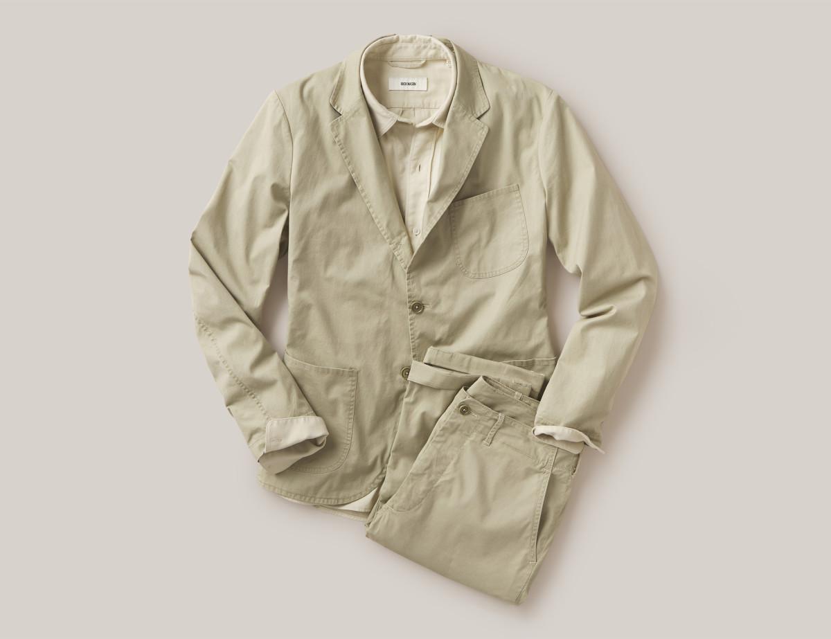 Buck Mason Carry-On Suit