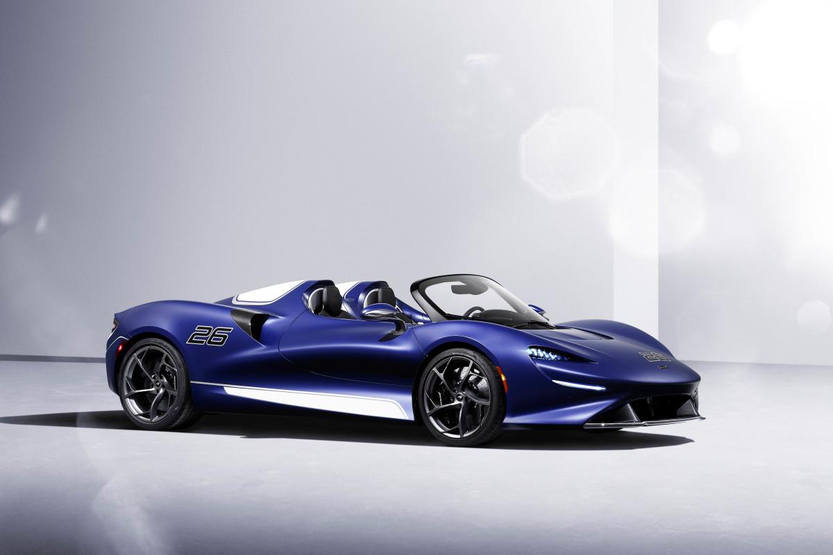 McLaren Elva Windshield Version