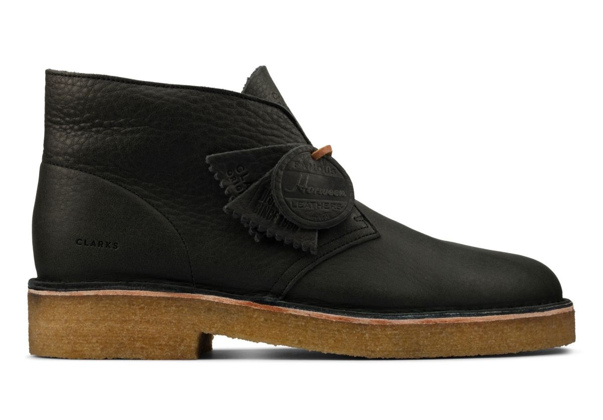 Clarks Originals Olive Leaf Tanned Leather