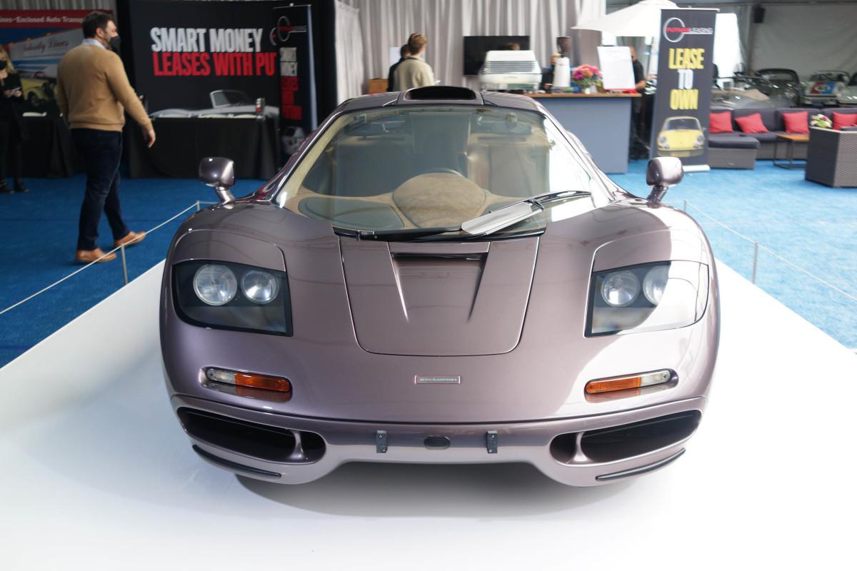 1995 McLaren F1, sold for $20,465,000.