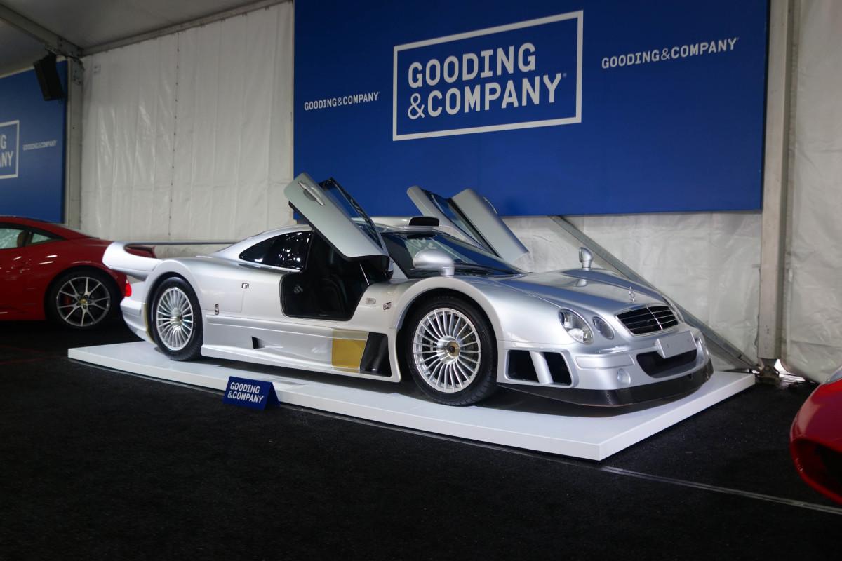 1998 Mercedes-Benz AMG CLK GTR Strassenversion, sold for$2,095,000.